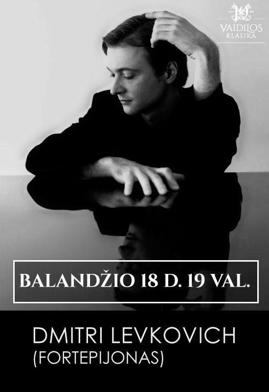 Fortepijono virtuozas Dmitri Levkovich