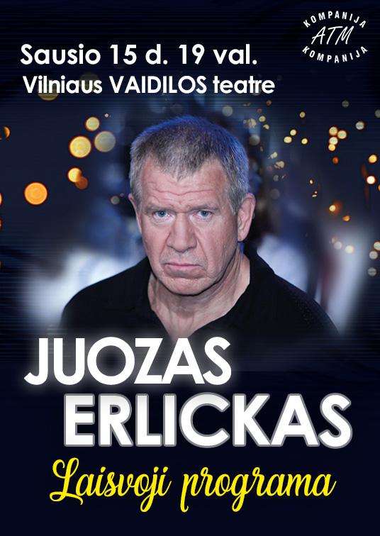 Juozas Erlickas  Laisvoji programa