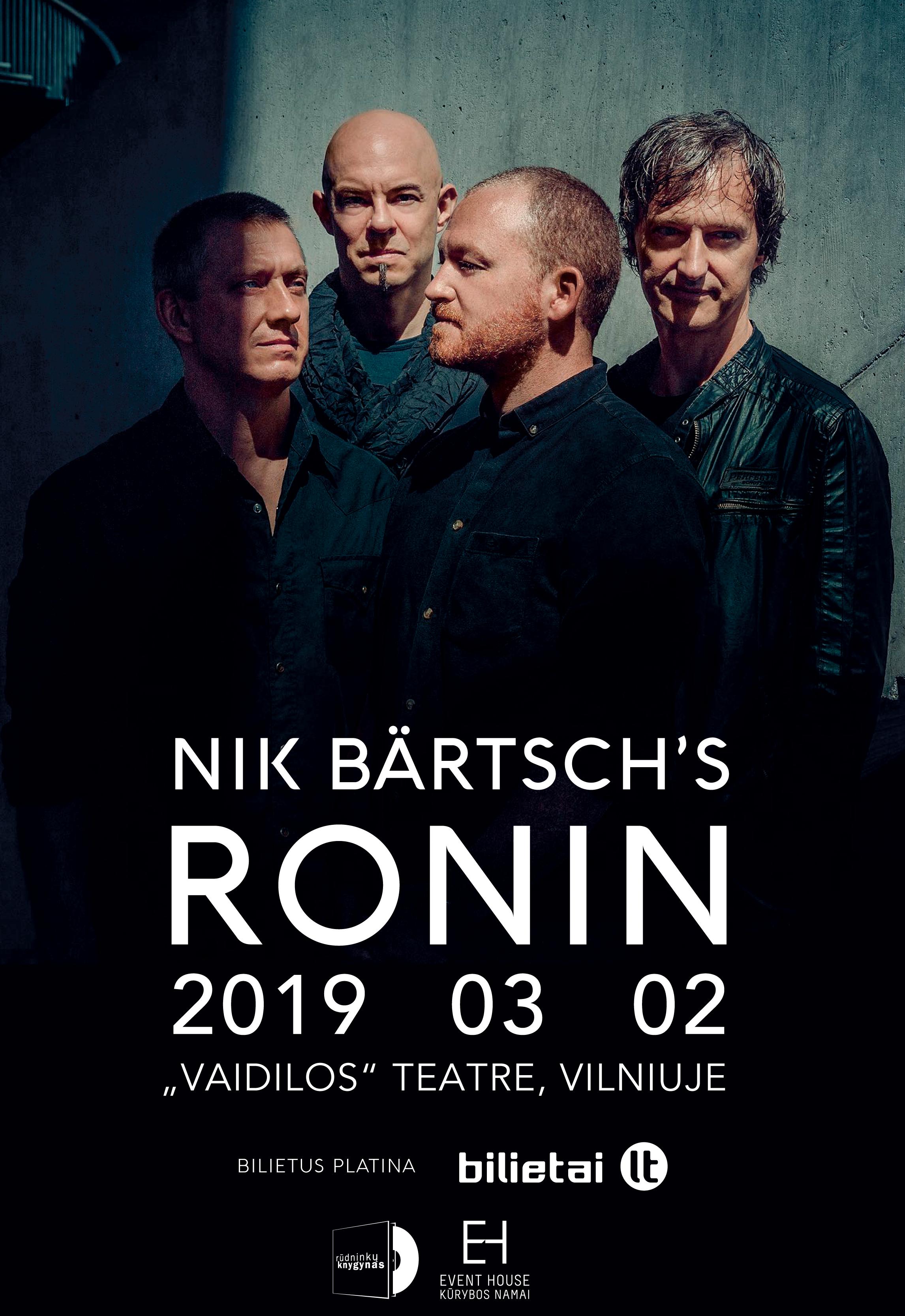 Nik Bärtsch's Ronin koncertas