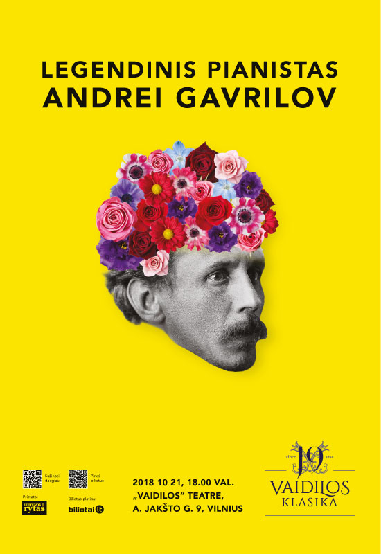 LEGENDINIS PIANISTAS. ANDREI GAVRILOV