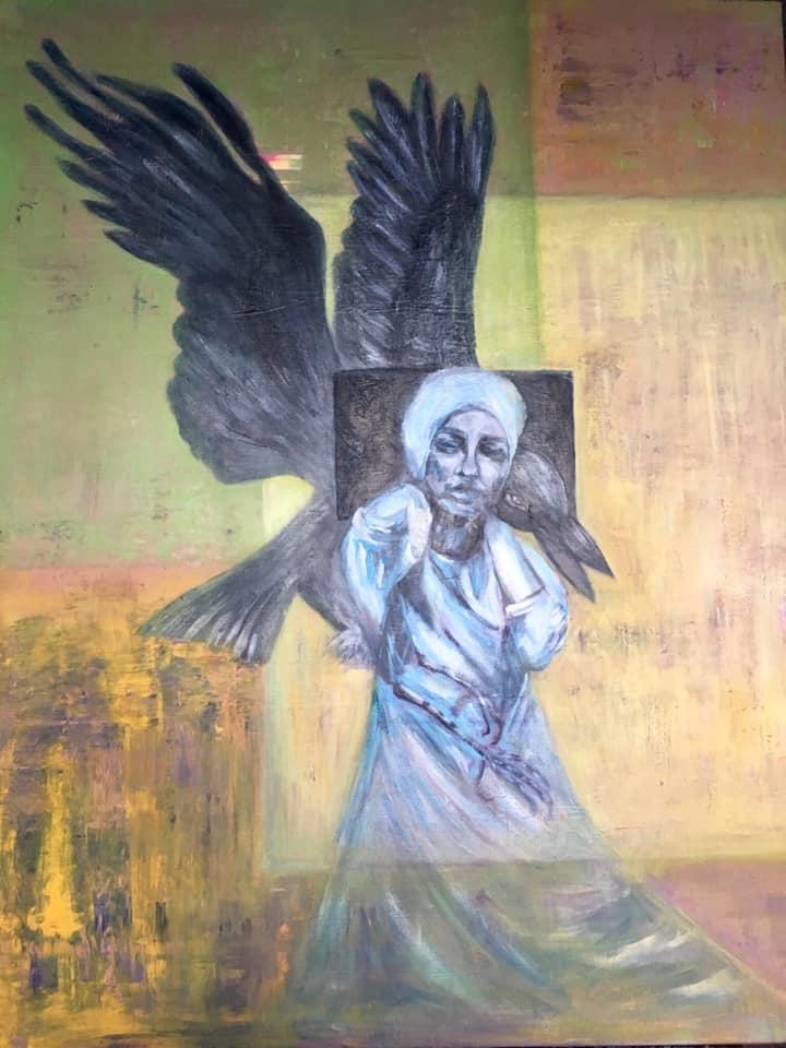 Vijolės Gailės tapybos darbų paroda SKRYDIS