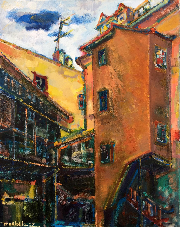 Personalinė Manto Meškėlos tapybos darbų paroda