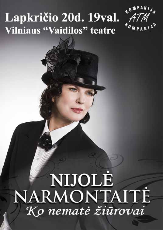 Vakaras su aktore Nijole Narmontaite