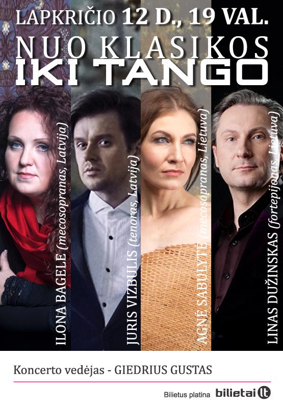 Nuo klasikos iki tango