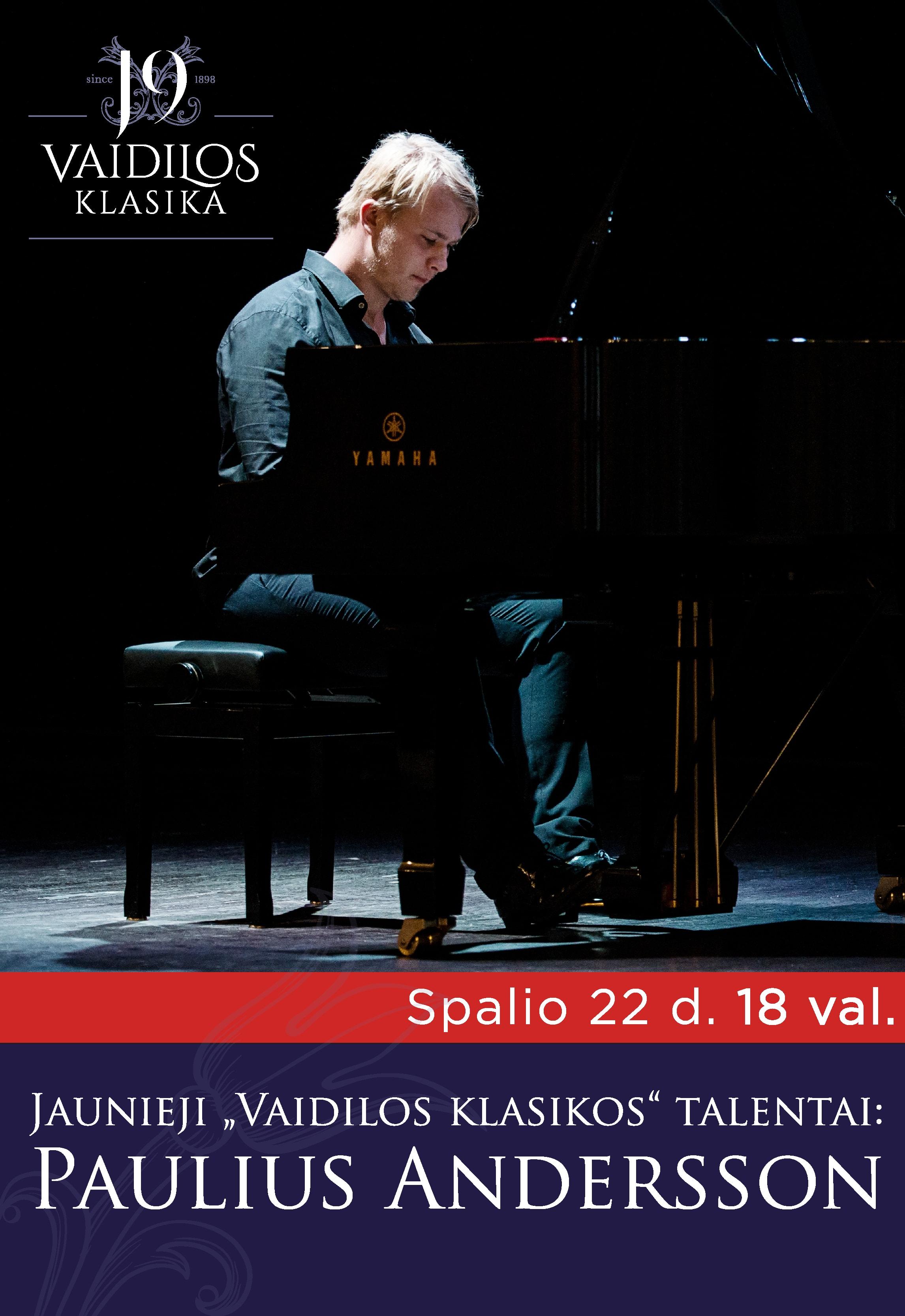 Jaunieji ''Vaidilos klasikos'' talentai: Paulius Andersson