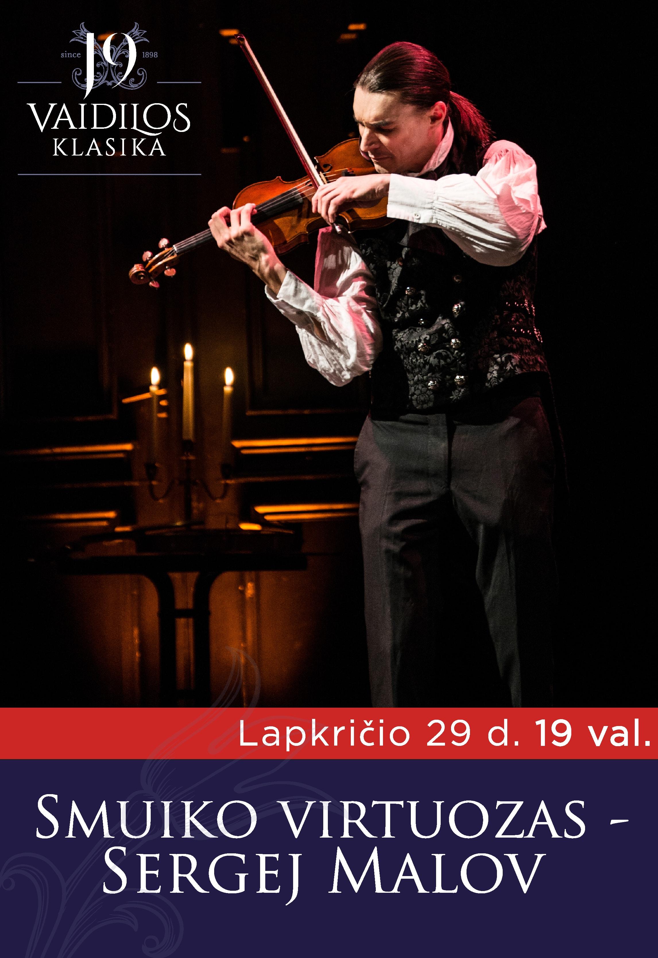 Smuiko virtuozas Sergej Malov