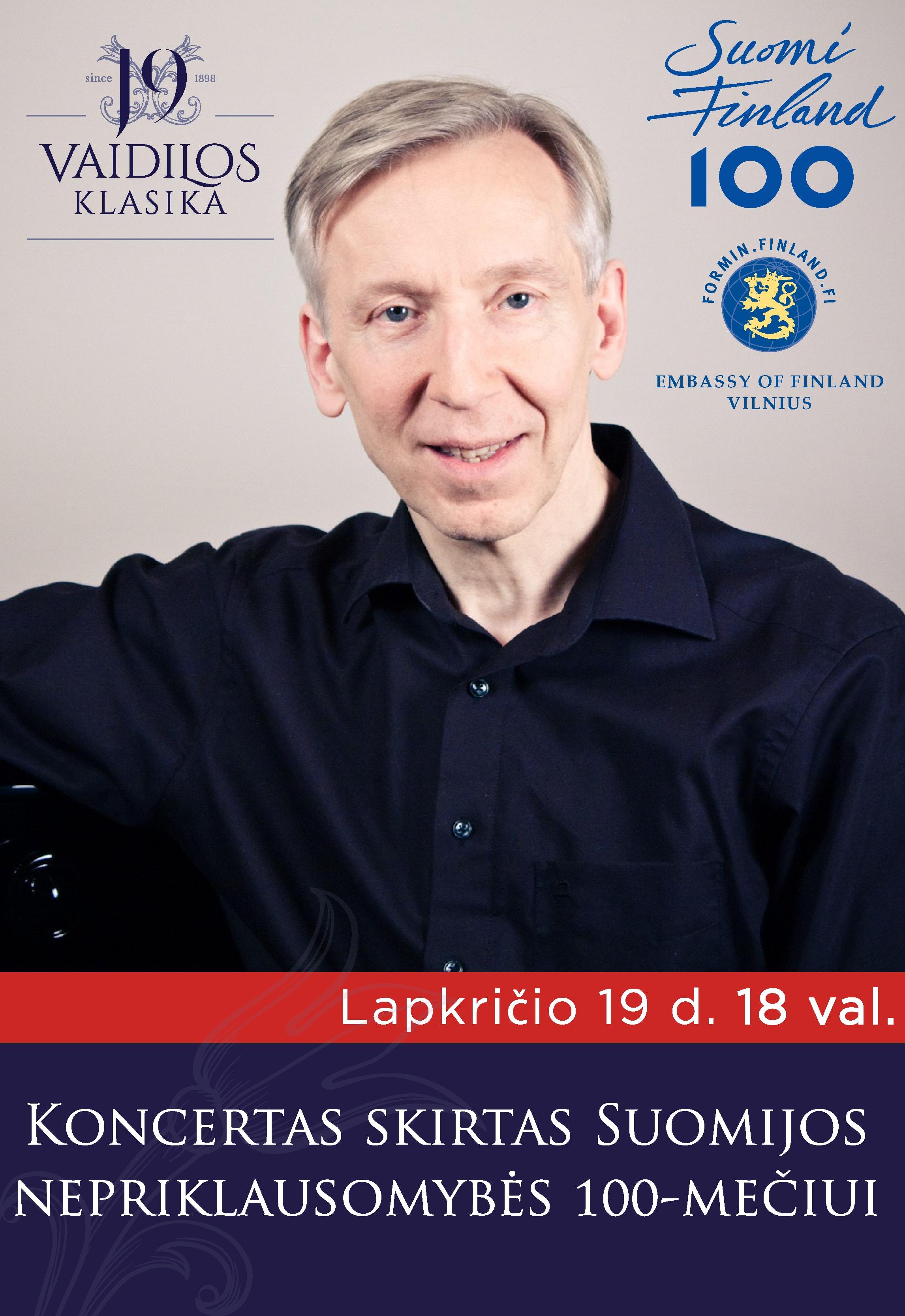 Koncertas Suomijos nepriklausomybės 100-mečiui